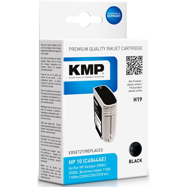 KMP H19 - HP 10 Black