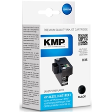 KMP H35 - HP 363XL Black 1700.0001