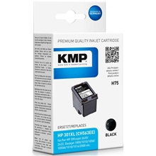 KMP H75 - HP 301XL Black 1719.4001