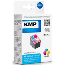 KMP H168CX - HP 302XL Tri-color 1746.4030