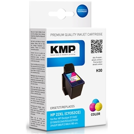 KMP H30 - HP 22XL Tri-Color