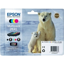 Epson 26XL Black, Cyan, Magenta, Yellow