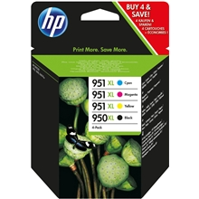 HP 950XL Black- + 951XL C/M/Y C2P43AE