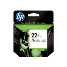 HP 22XL Tri-Color