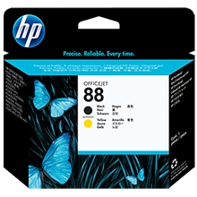 HP 88 Printhead Black/Yellow C9381A