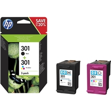 HP 301 Black / Tri-Color N9J72AE
