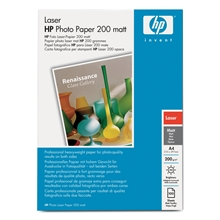 HP A4 Photo Laser Paper Matt 200