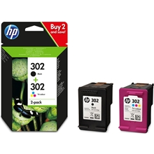 HP 302 Duo Pack X4D37AE