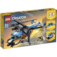 31096 LEGO® Creator Helikopter med To Rotorer