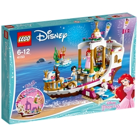 41153 LEGO Disney Princess Ariels Royale Festbåd