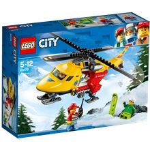 60179 LEGO City Ambulancehelikopter