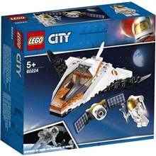 60224 LEGO® City Space Port Satellitservicemission
