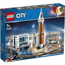 60228 LEGO® City SpacePort Rumraket og Affyring