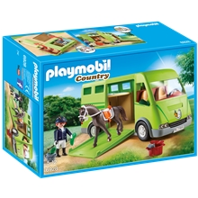 6928 Playmobil Hestetransporter