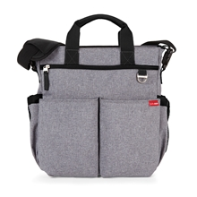 Skip Hop Pusletaske Duo Signature Heather Grey