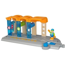 BRIO World 33874 Togvaskehal