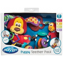 Playgro Puppy Teether Pack