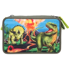 Dino World Trippel Penalhus LED