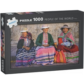 Puslespil 1000 Brikker People of the World Peru