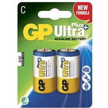 GP Batteries Ultra Plus LR14, Pakke med 2 stk.