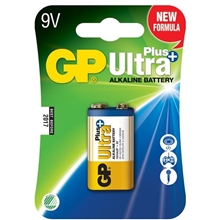 GP Batteries Ultra Plus, 6LF22, 9V Pakke med 1stk.