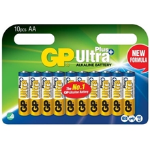 GP Batteries Ultra Plus AA, Pakke med 10 stk.