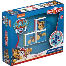 GEOMAG Magicube Paw Patrol Chase, Skye & Rocky