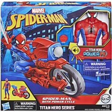 Spider-Man Titan Hero Series Power Cycle