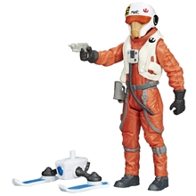 Star Wars E7 Snow/Jungle X-Wing Pilot Asty