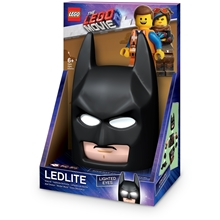 LEGO Movie 2 Batman Mask Night Light w/Sticker