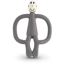 Matchstick Monkey Teething Grey