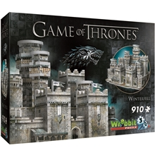Wrebbit 3D Puslespil Game of Thrones Winterfell
