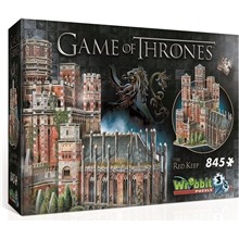 Wrebbit 3D-puslespil Game of Thrones Red Keep