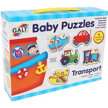 Babypuslespil Transport