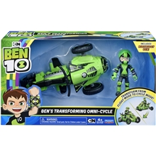 Ben 10 Rustbuggy Ben Transforming Omni-Cycle