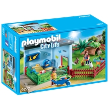 9277 Playmobil Lille Dyrepension