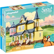 9475 Playmobil Luckys Glade Hjem