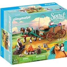 9477 Playmobil Luckys Far og Vogn