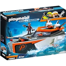70002 Playmobil SPY TEAM Turboskib