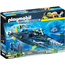 70005 Playmobil TEAM S.H.A.R.K Destroyer med Bor