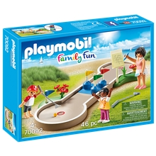 70092 Playmobil Family Fun Minigolfbane
