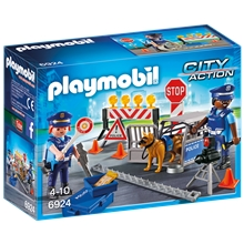 Playmobil 6924 Politivejspærring