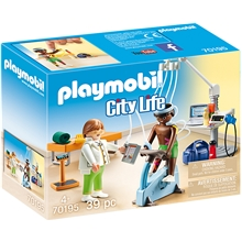 70195 Playmobil Speciallæge: Fysioterapeut