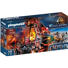 70390 Playmobil Burnham Raiders Lavamine