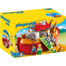 6765 Playmobil 1.2.3 My Take Along - Noah's Ark