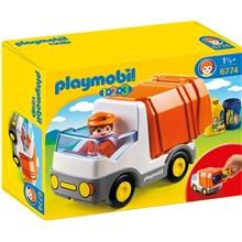 6774 Playmobil 1.2.3 Recycling Truck