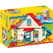 70129 Playmobil 1.2.3 Family Home