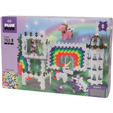 Plus-Plus Rainbow Castle 760 Dele