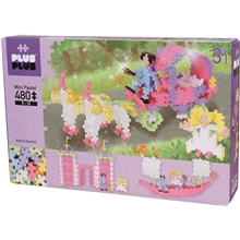 Plus-Plus Basic 3-in-1 Pastel Princess 480 Dele