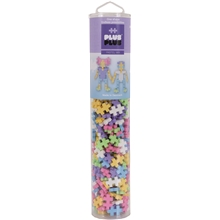 Plus-Plus Pastel Mix Tube 240 Dele